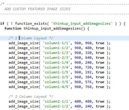 add_image_size wordpress theme function